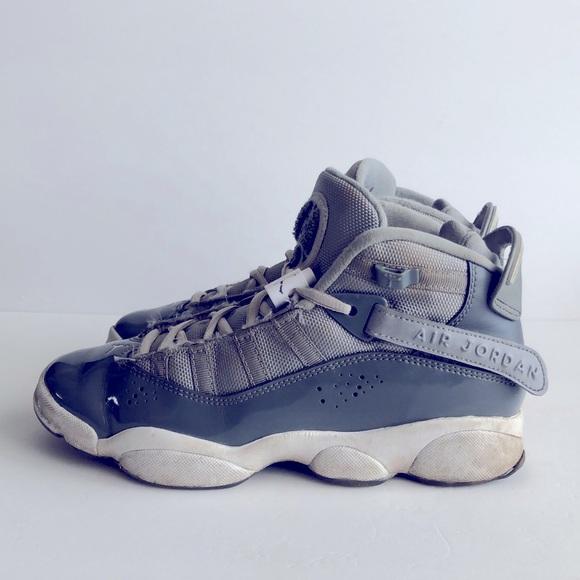 Boys Air Jordan 6 Rings Basketball Shoes 5.5Y